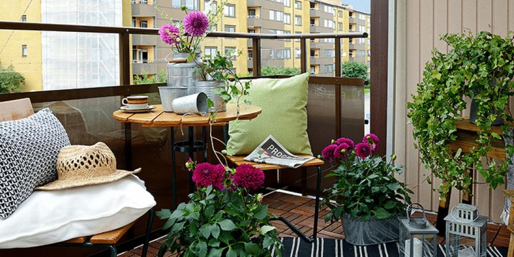 Come arredare un terrazzo piccolo e sfruttarlo al massimo